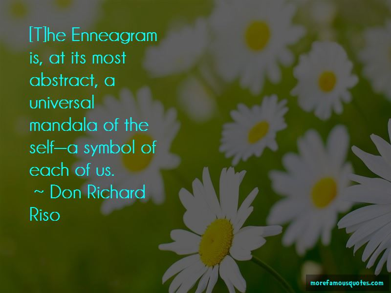 Don Richard Riso Quotes Pictures 2