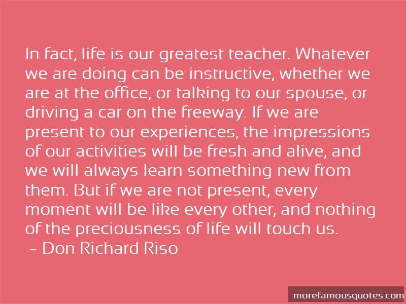 Don Richard Riso Quotes