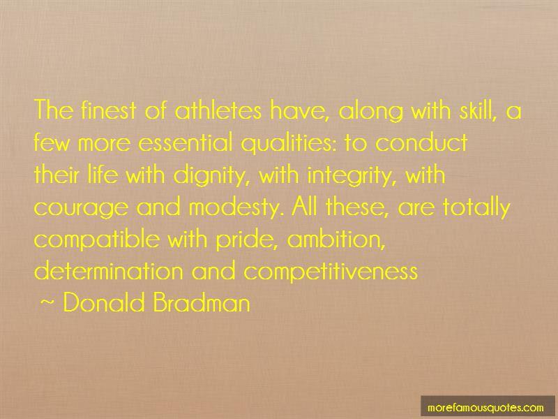 Donald Bradman Quotes