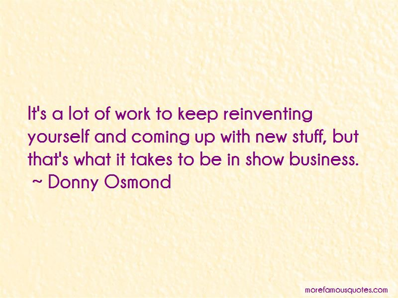 Donny Osmond Quotes Pictures 4