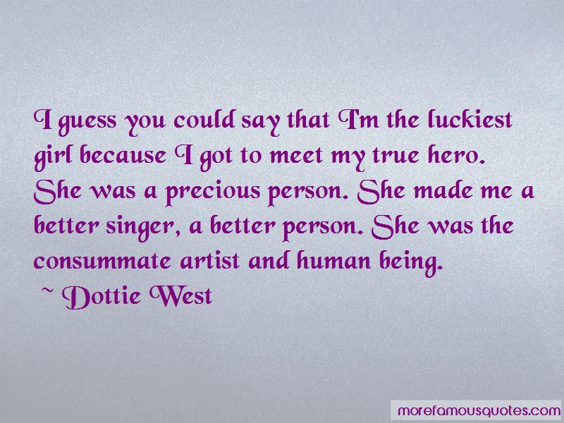Dottie West Quotes