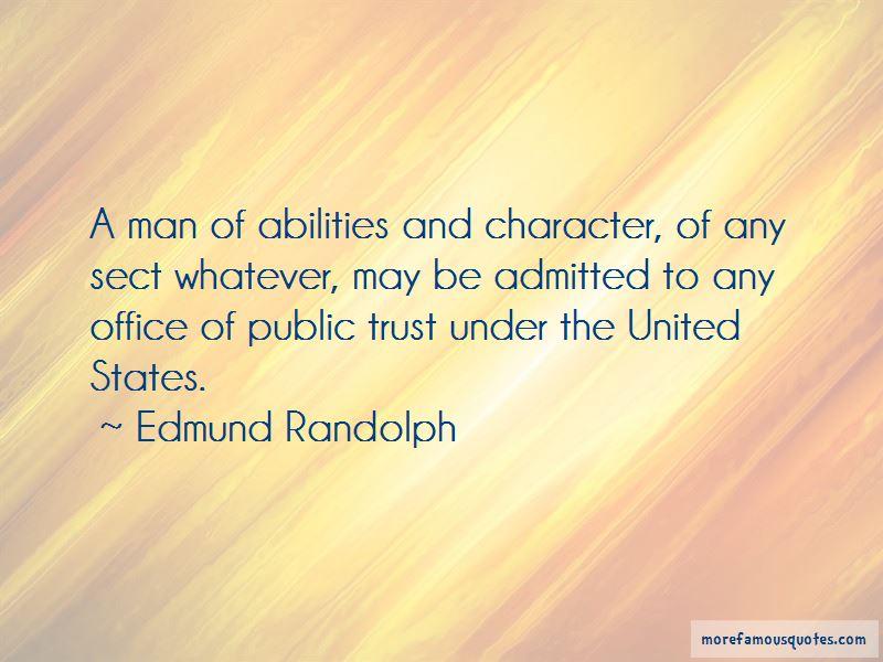 Edmund Randolph Quotes Pictures 4