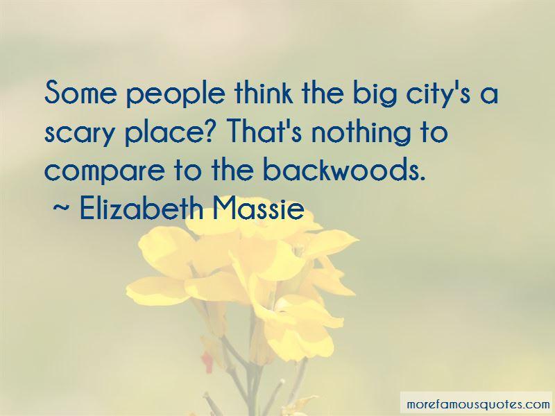 Elizabeth Massie Quotes
