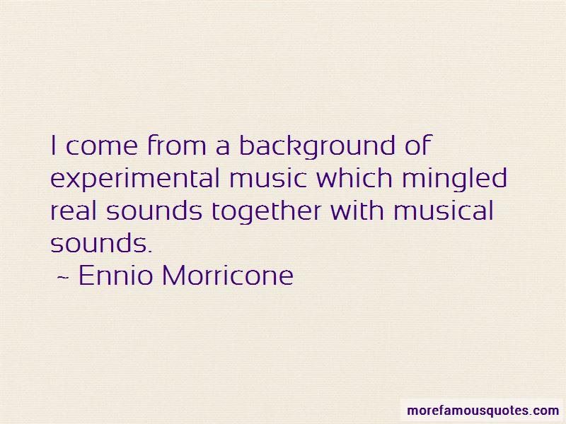Ennio Morricone Quotes Pictures 2