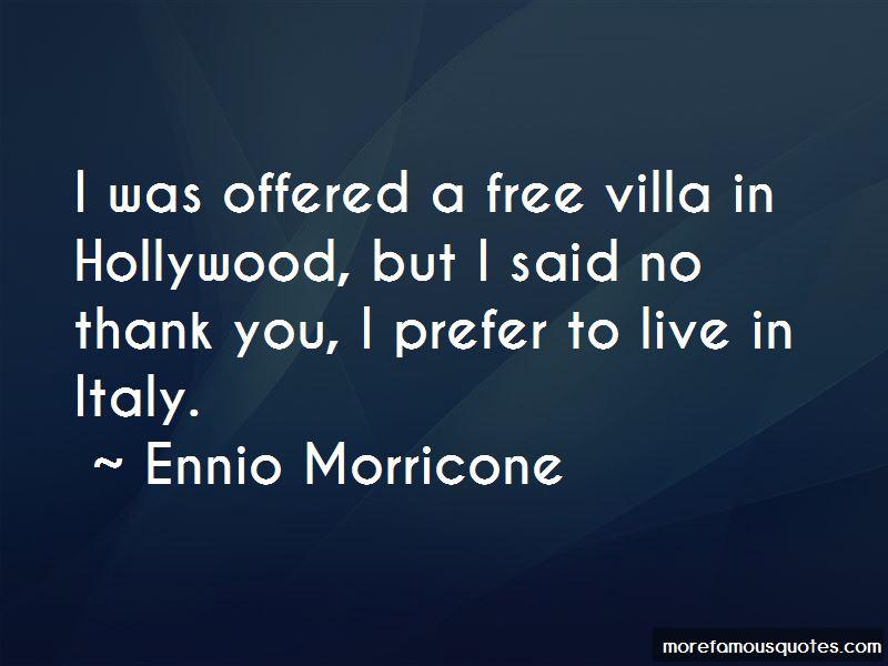 Ennio Morricone Quotes Pictures 3