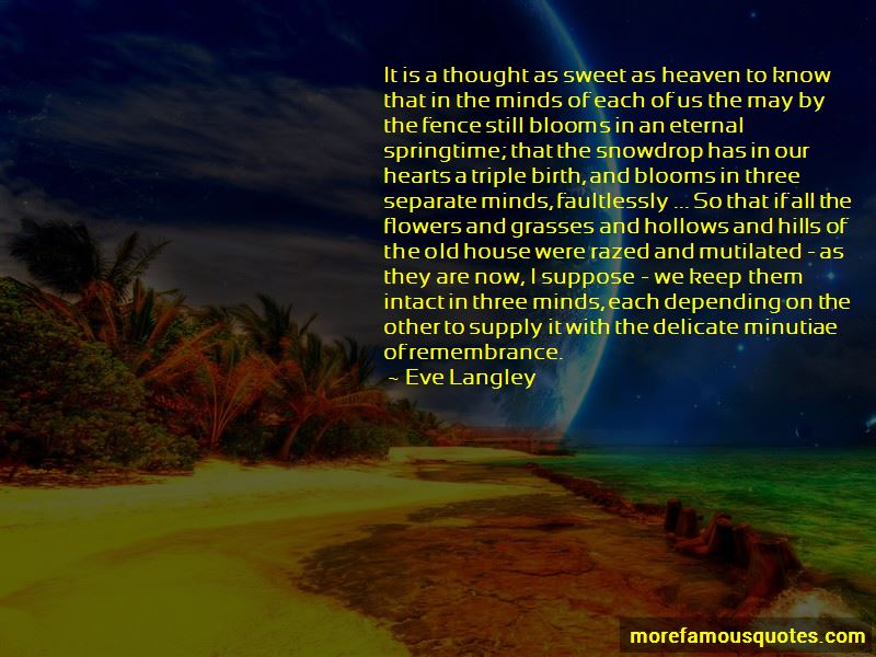 Eve Langley Quotes