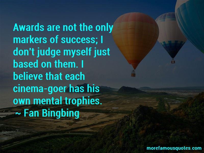Fan Bingbing Quotes