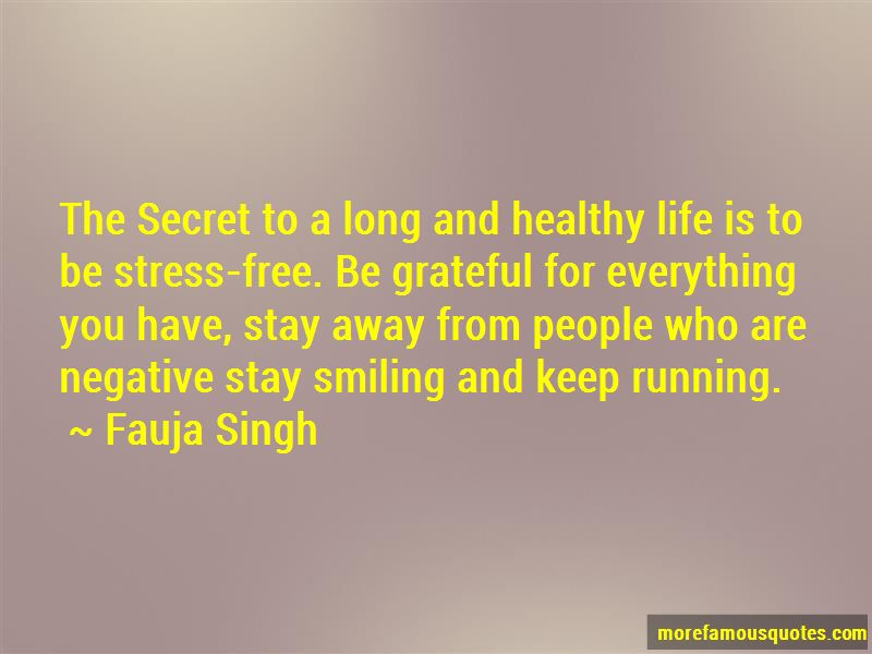 Fauja Singh Quotes
