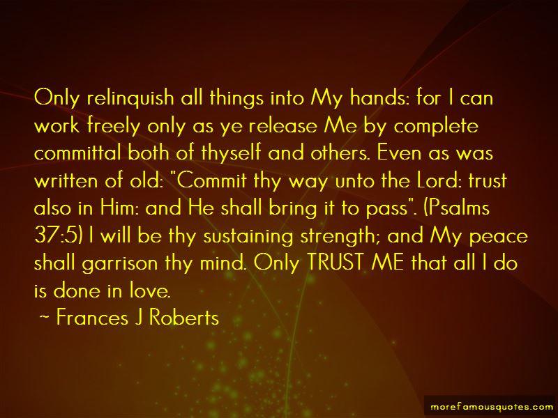 Frances J Roberts Quotes Pictures 2