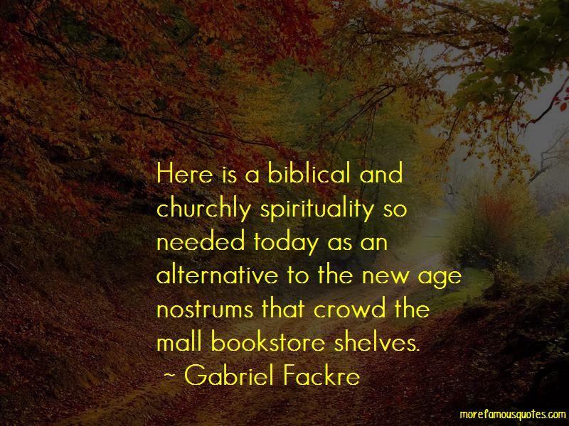 Gabriel Fackre Quotes Pictures 3