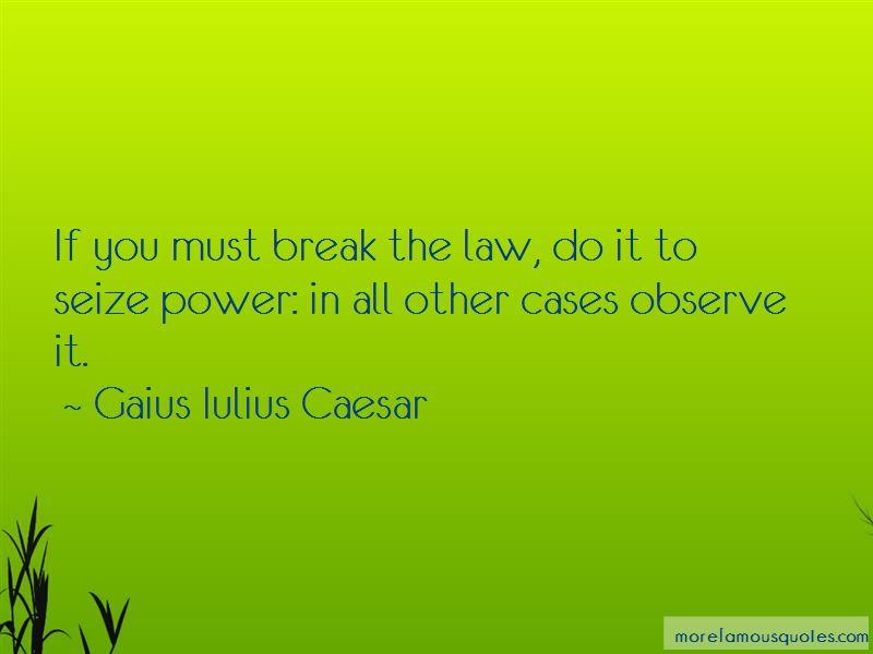 Gaius Iulius Caesar Quotes