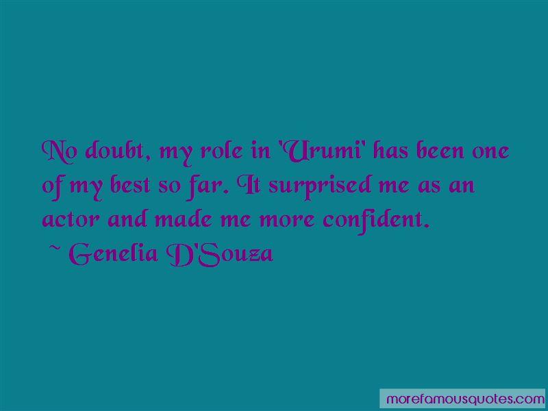 Genelia D'Souza Quotes