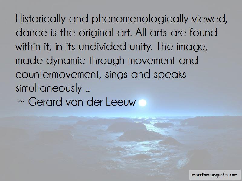 Gerard Van Der Leeuw Quotes Pictures 3