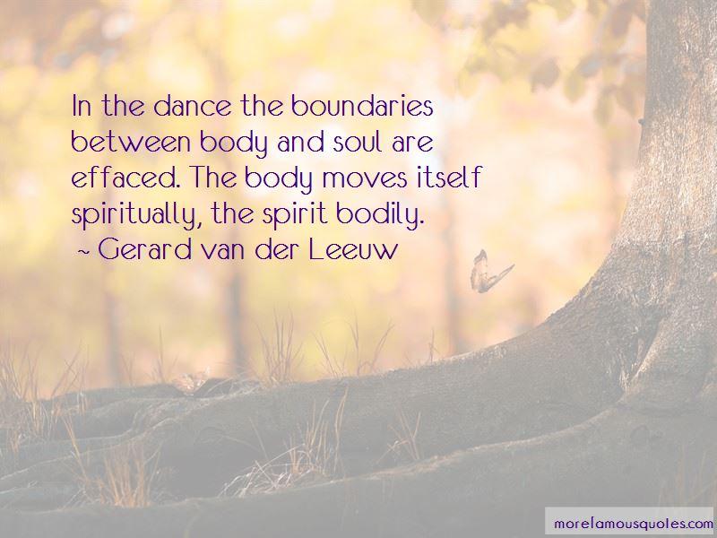 Gerard Van Der Leeuw Quotes Pictures 4