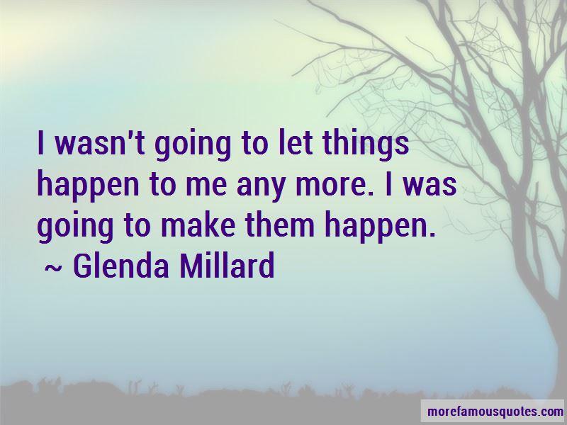 Glenda Millard Quotes Pictures 3