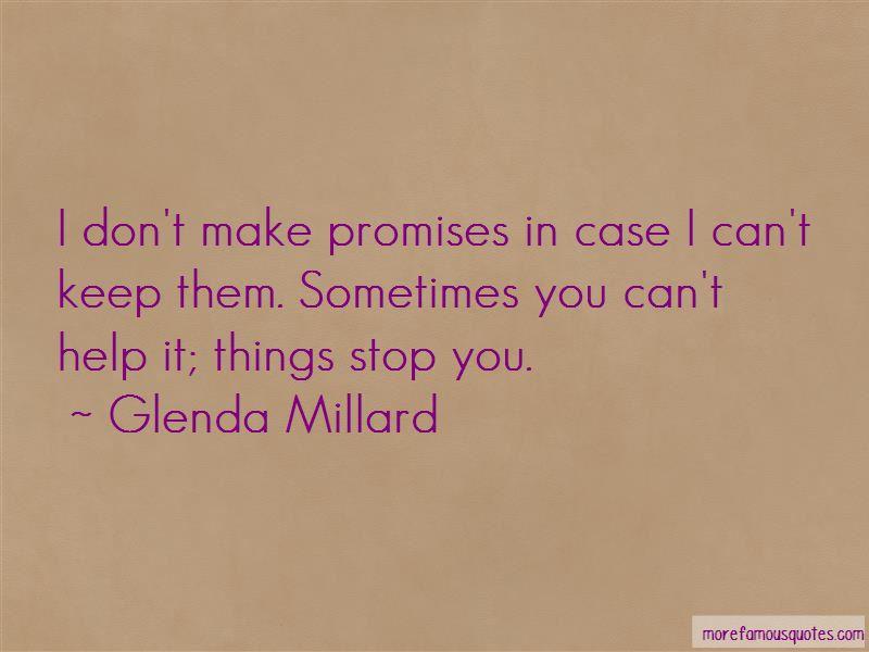 Glenda Millard Quotes Pictures 4