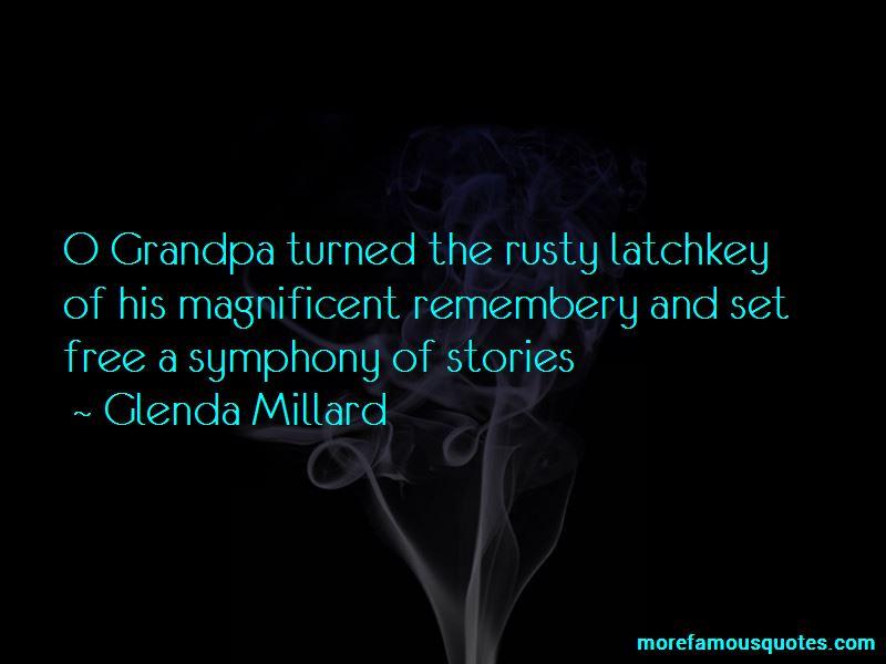 Glenda Millard Quotes