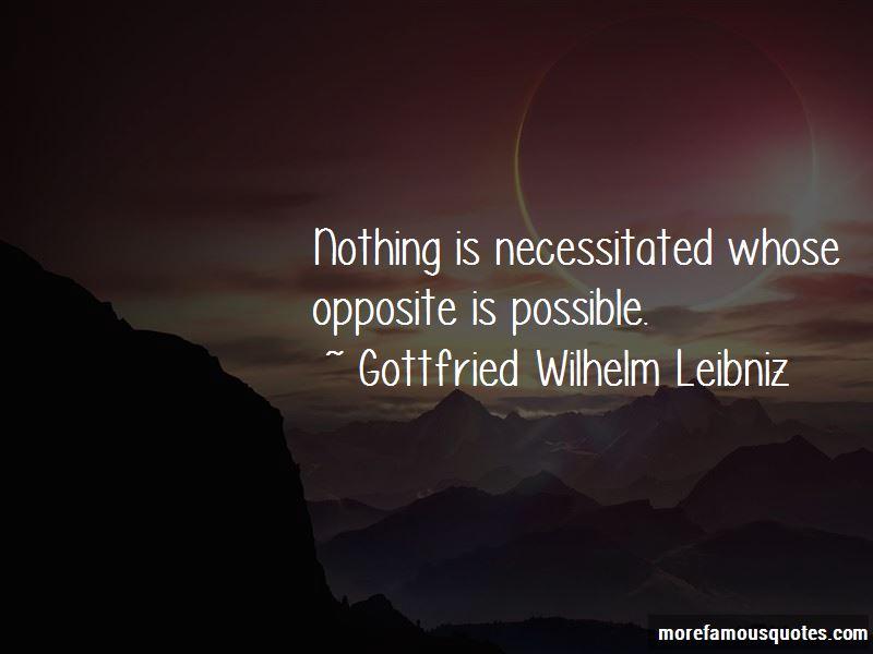 Gottfried Wilhelm Leibniz Quotes Pictures 2