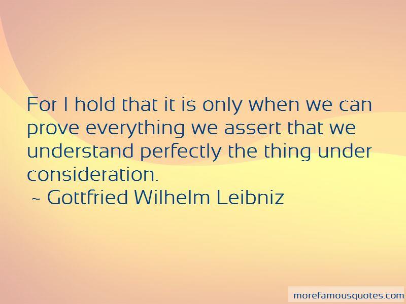 Gottfried Wilhelm Leibniz Quotes Pictures 4