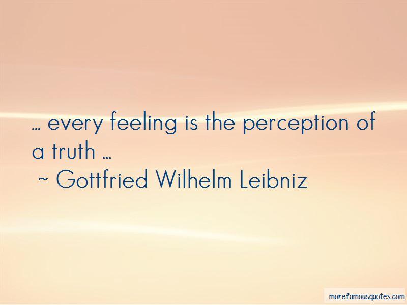 Gottfried Wilhelm Leibniz Quotes