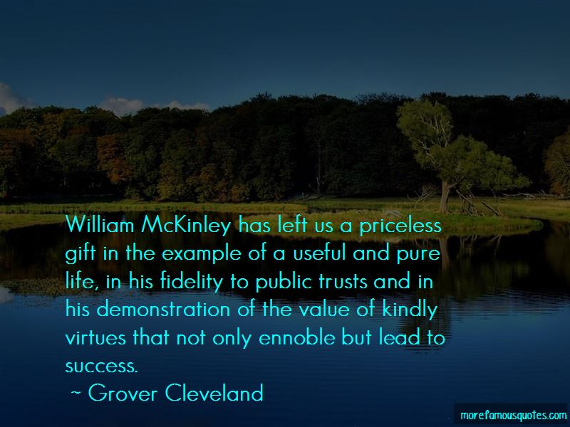 Grover Cleveland Quotes Top 88 Famous Quotes By Grover