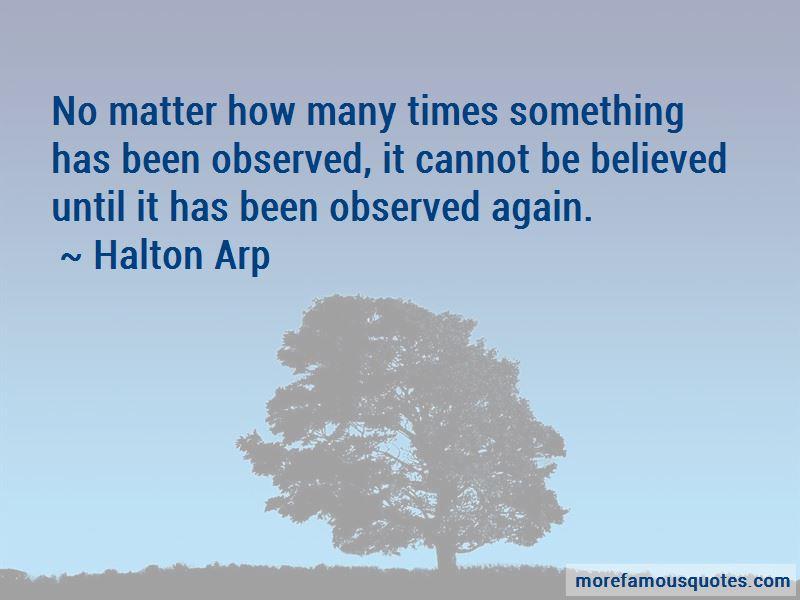 Halton Arp Quotes Pictures 2