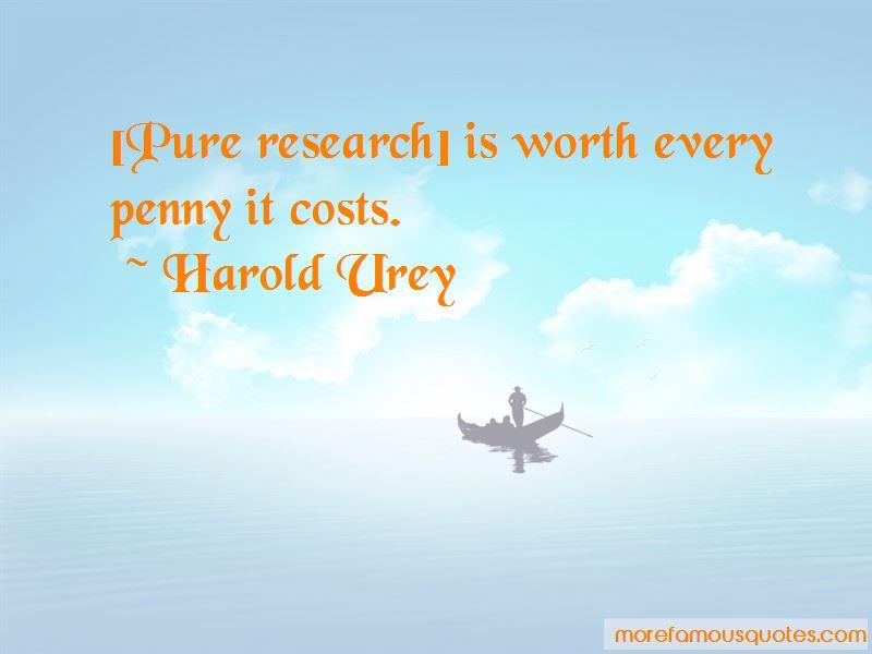 Harold Urey Quotes Pictures 2