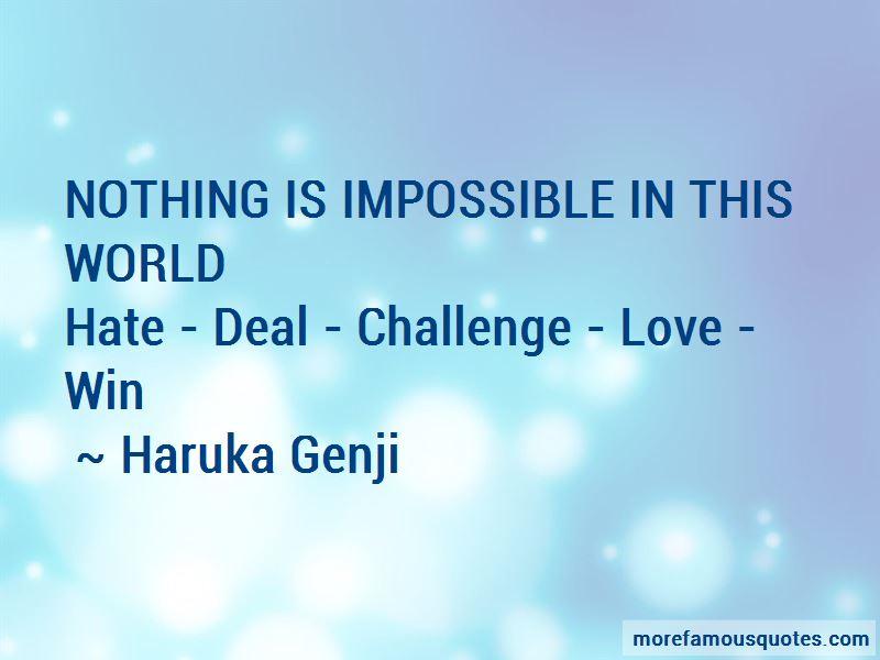 Haruka Genji Quotes