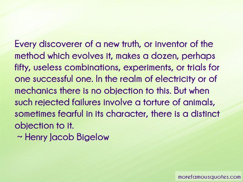 Henry Jacob Bigelow Quotes