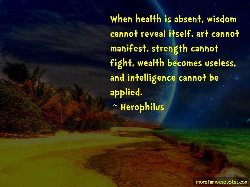 Herophilus Quotes