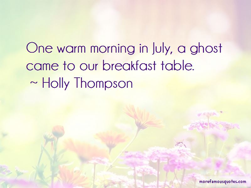 Holly Thompson Quotes Pictures 3