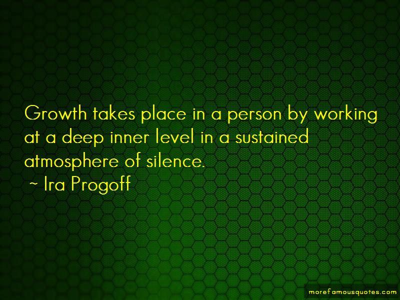 Ira Progoff Quotes