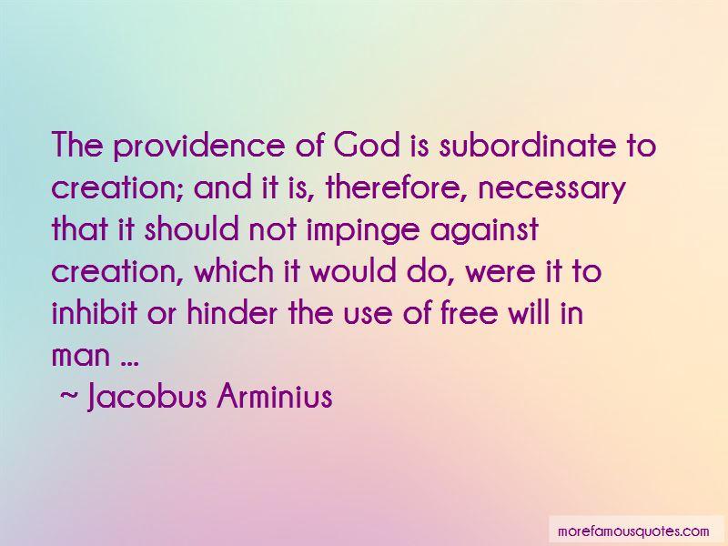 Jacobus Arminius Quotes