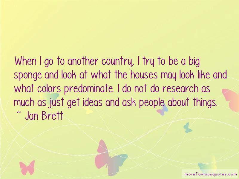 Jan Brett Quotes Pictures 3