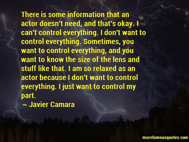Javier Camara Quotes Pictures 4