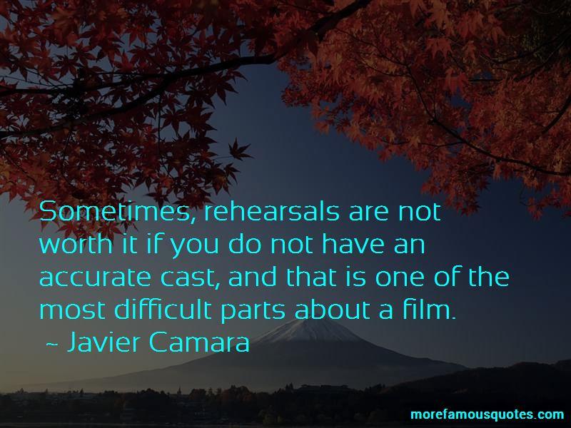 Javier Camara Quotes