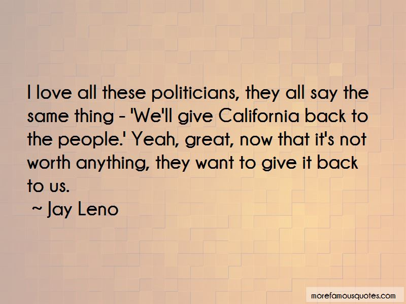 Jay Leno Quotes Pictures 3