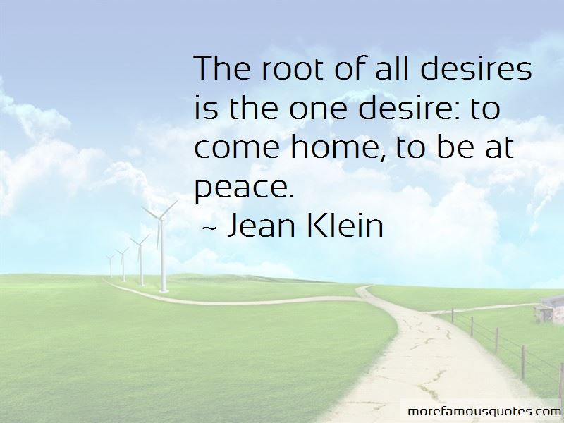 Jean Klein Quotes Pictures 3