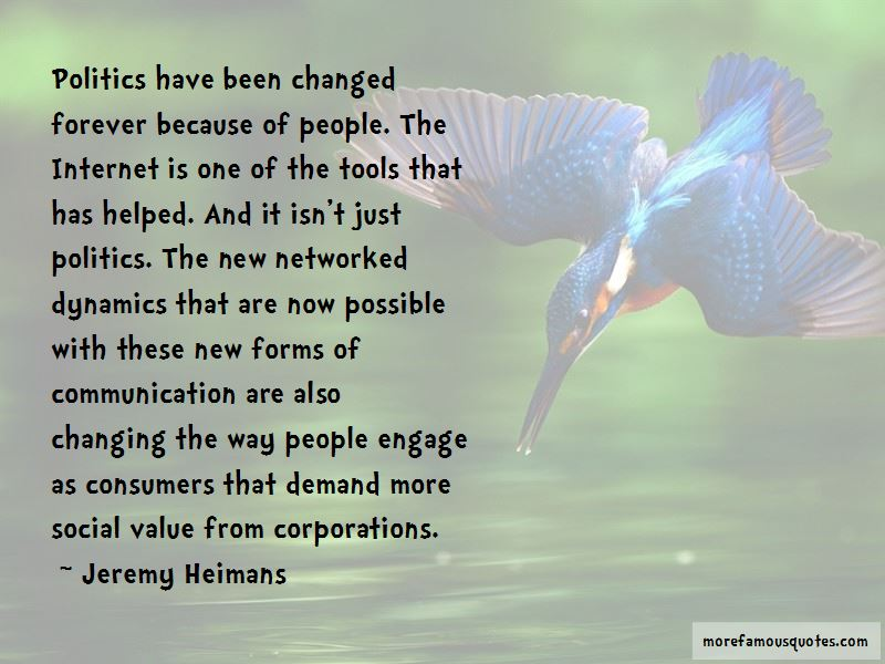 Jeremy Heimans Quotes Pictures 3