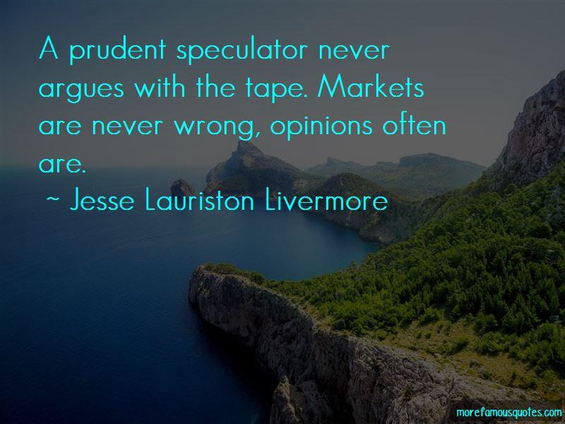 Jesse Lauriston Livermore Quotes Pictures 2