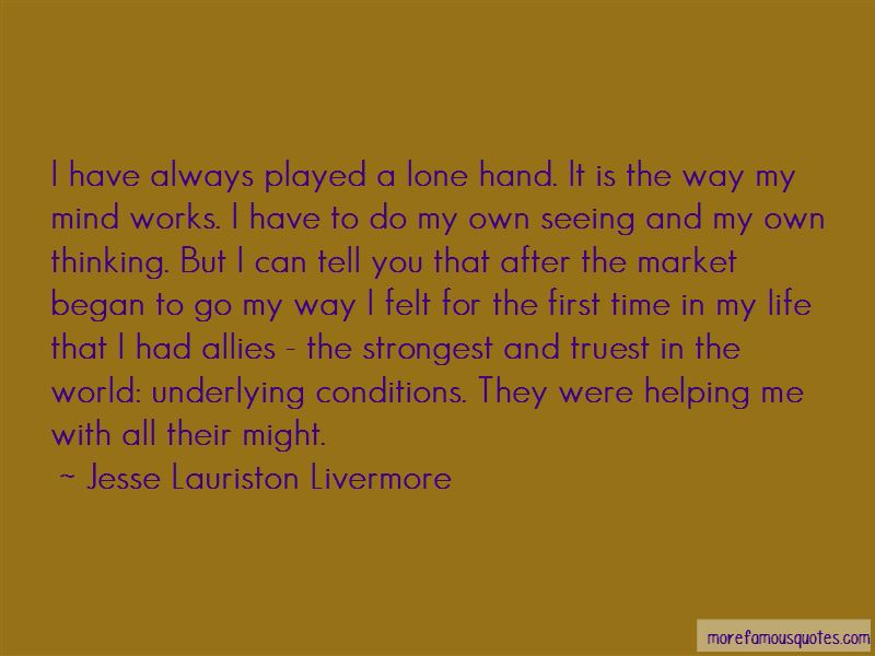 Jesse Lauriston Livermore Quotes Pictures 4