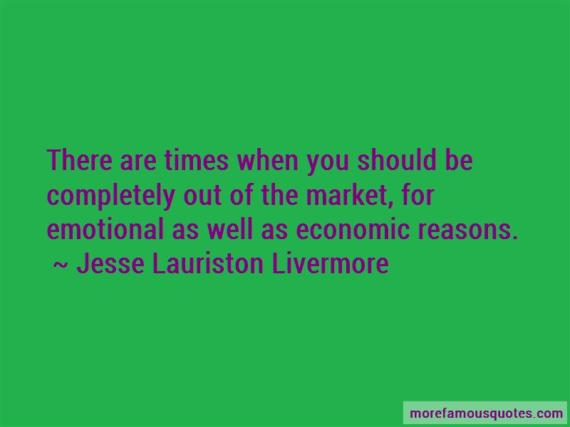Jesse Lauriston Livermore Quotes