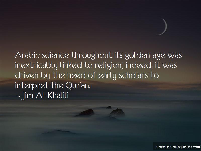 Jim Al-Khalili Quotes