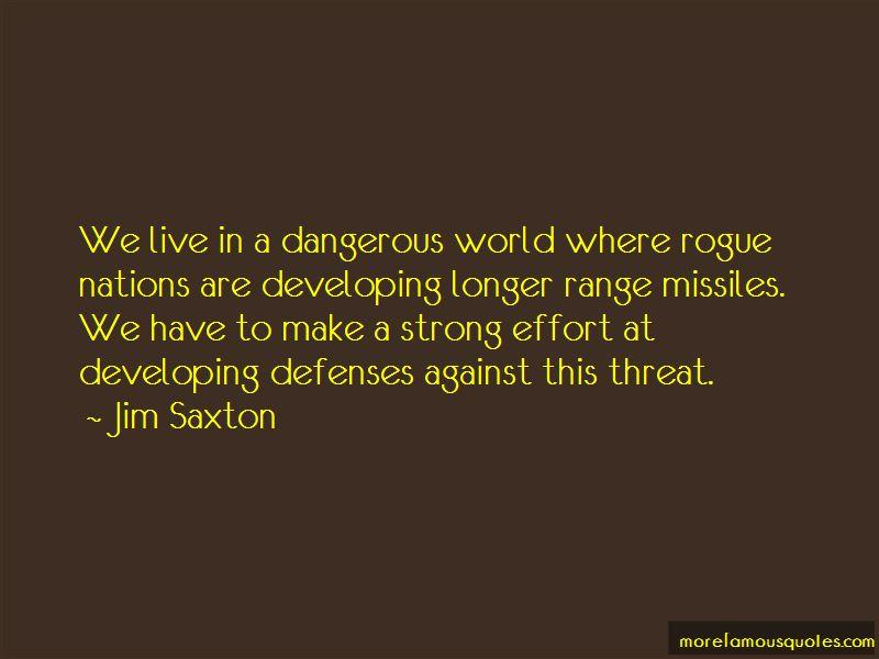 Jim Saxton Quotes