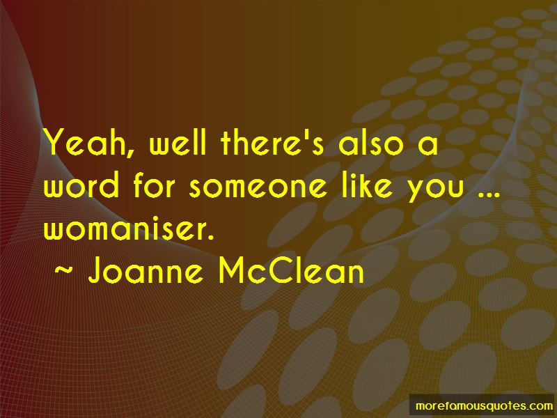 Joanne McClean Quotes Pictures 2