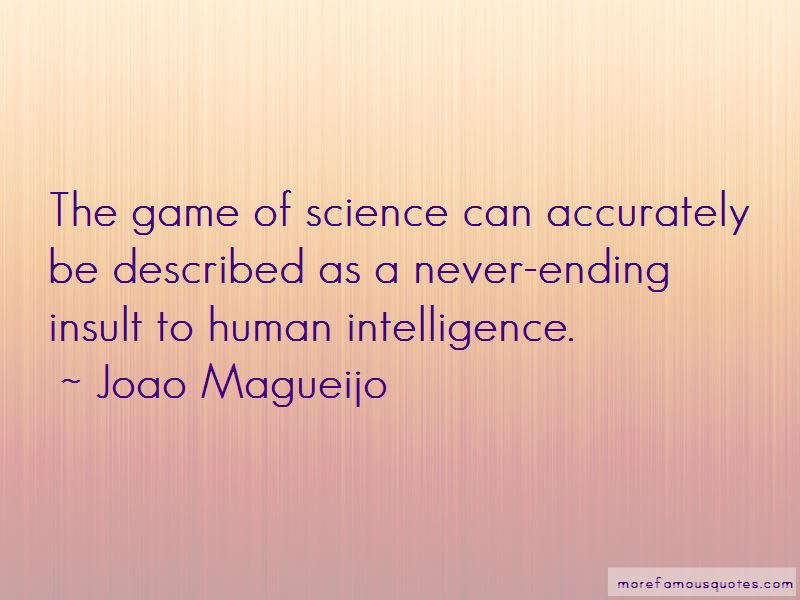 Joao Magueijo Quotes Pictures 2
