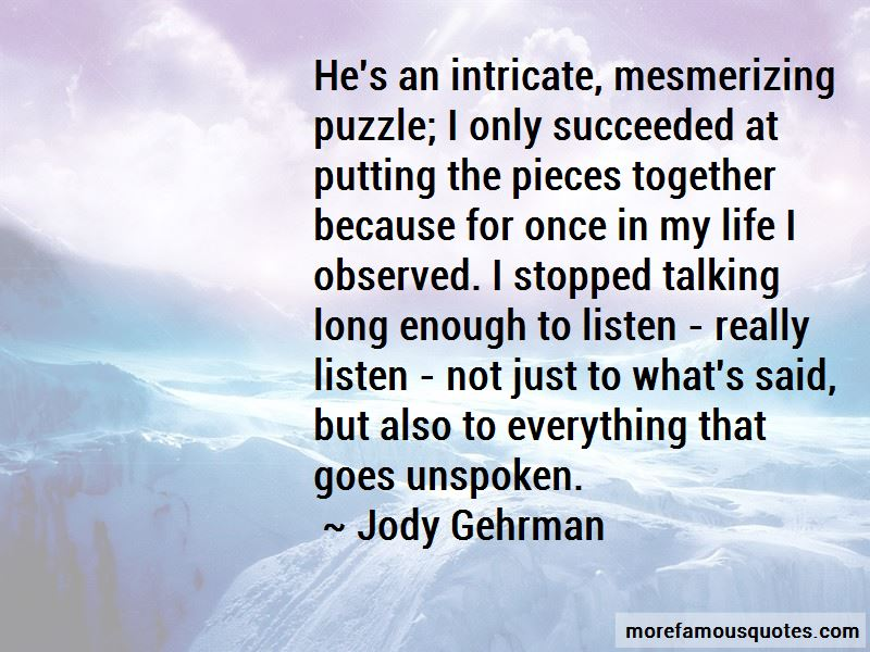 Jody Gehrman Quotes Pictures 2