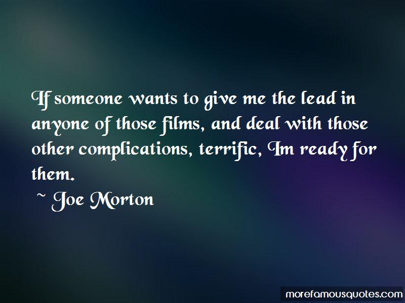 Joe Morton Quotes Pictures 3