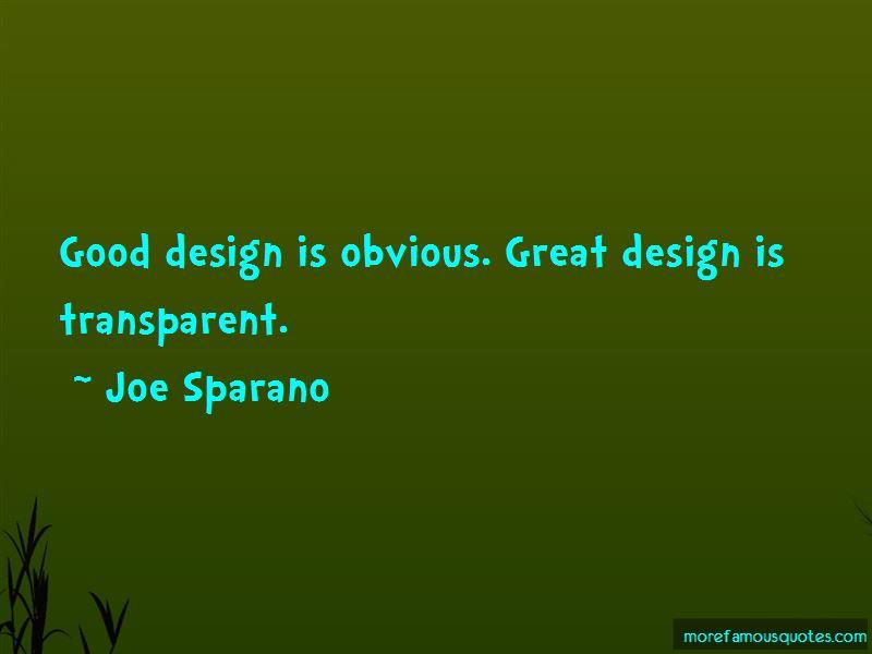 Joe Sparano Quotes