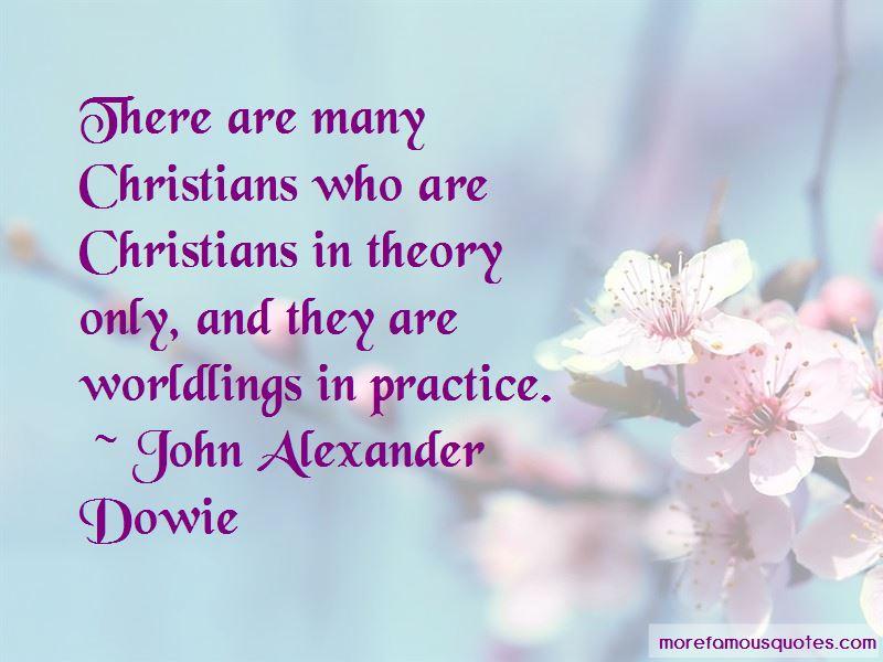 John Alexander Dowie Quotes